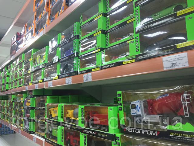 Стеллажи торговые для магазина игрушек