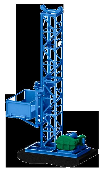 Доставка строительных мачтовых подъёмников секционных. Подъёмники Строительные Мачтовые