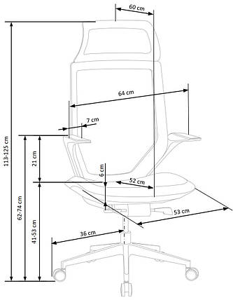 Кресло GENESIS 2 (Halmar), фото 2