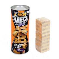 Настольная игра Vega ( Вега ) мини. Украинская версия игры Башня Дженга (Jenga)