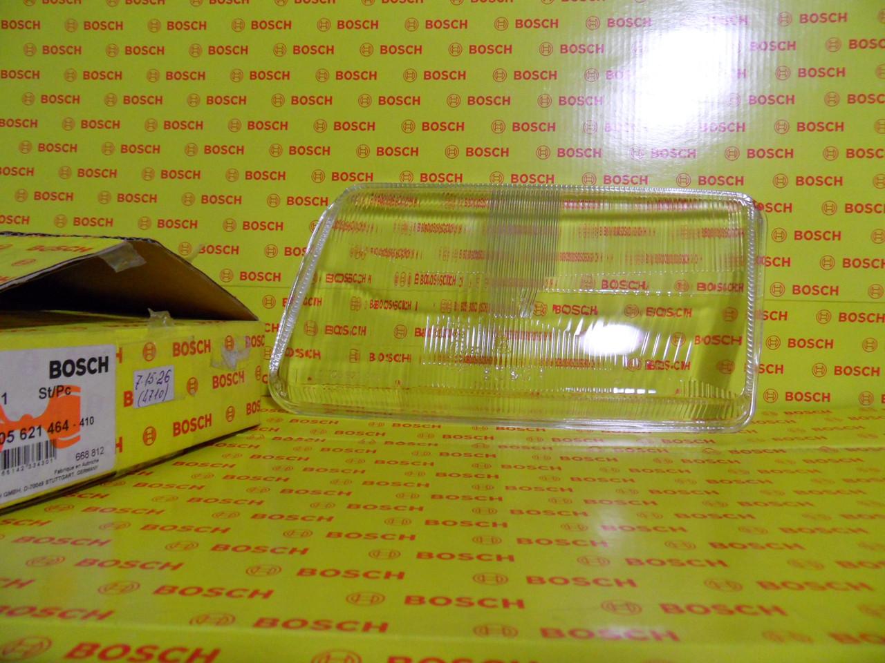 Оптика Bosch, 1305621464, Скло лев.фари AUDI A80 91-96