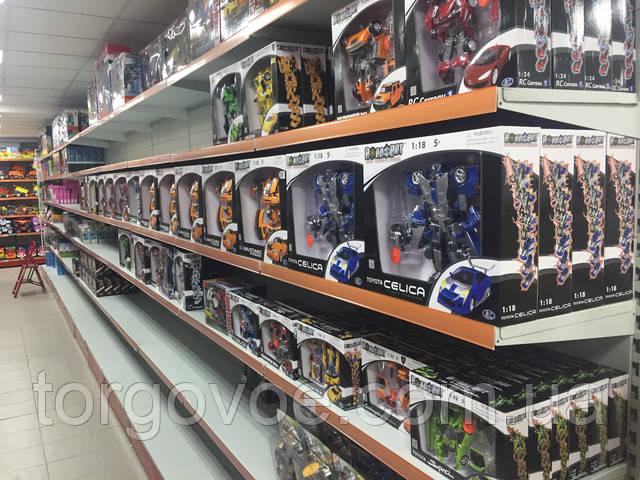 Стеллажи торговые ВИКО для склада магазина игрушек