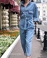 Комбинезон женский джинсовый Хит сезона 2019