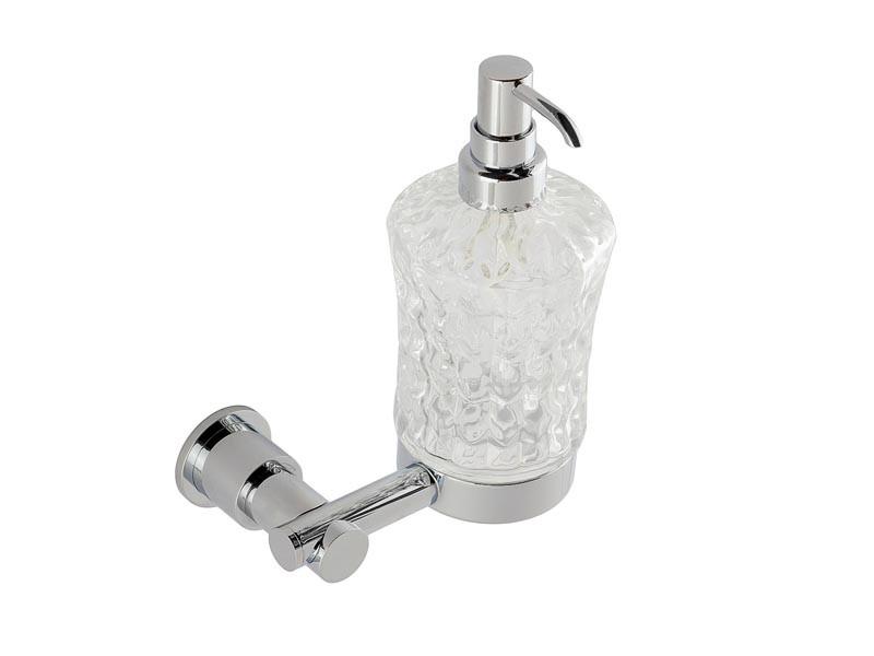 Дозатор для жидкого мыла KUGU Eva хром