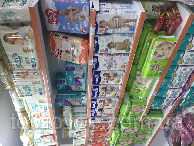 Стеллажи торговые для склада магазина игрушек