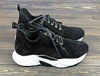 Замшевые кроссовки Twenty Two 21913-2358 Z BLACK 36 23,5 см, фото 1