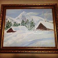 Картина Зимовий пезаж