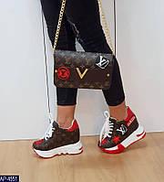 Кроссовки женские Louis Vuitton Турция, высокое качество, износостойкая подошва. Под заказ 5-10 дней