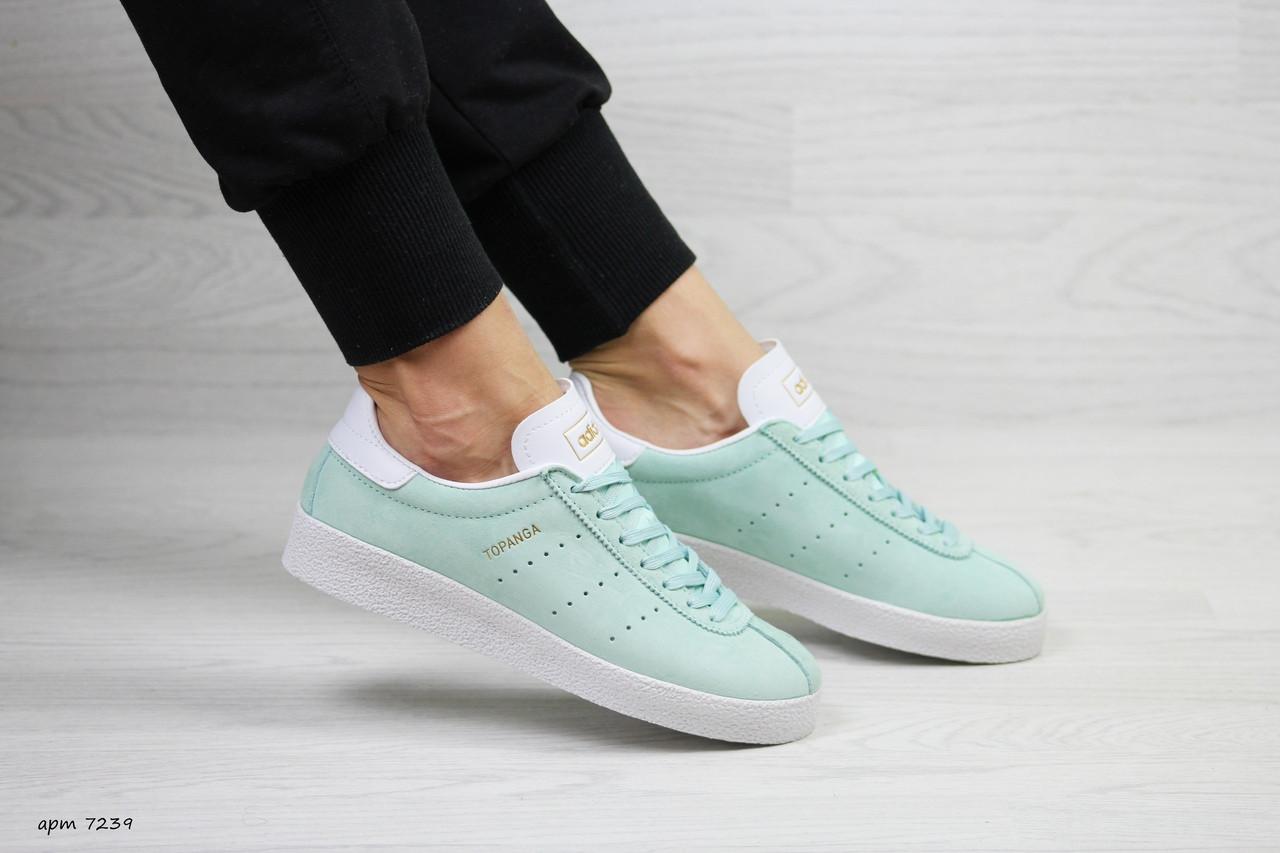 Женские кроссовки Adidas Topanga (мятные)