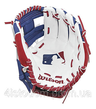 "Перчатка-ловушка бейсбольная W A0200 10"" MLB BATTER BBG SS18, фото 2"