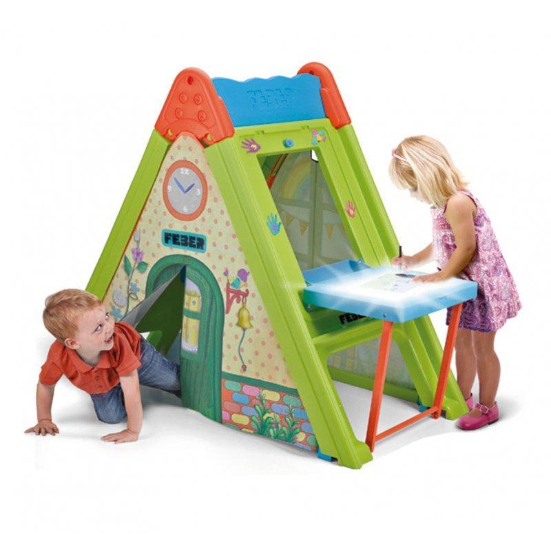 Домик игровой 4in1 Play & Fold Light Desk FEBER 11620. Домик для детей
