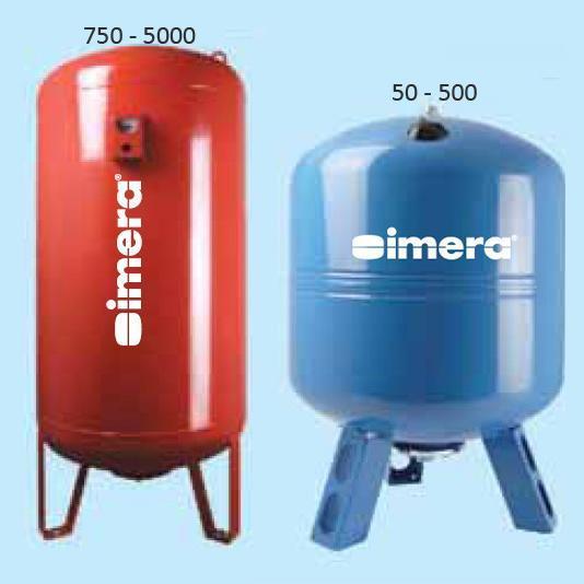 Бак гідроакумулятор Imera AV100 л