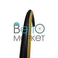 Покришка WANDA KING 700 *23С (жовтий. пліч), шосейна, нескладна