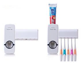 Автоматический дозатор для зубной пасты, подставка для щеток