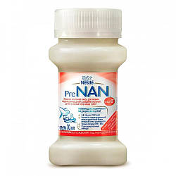 Nestle Жидкая молочная смесь PRE NAN Stage 0+ 70 мл