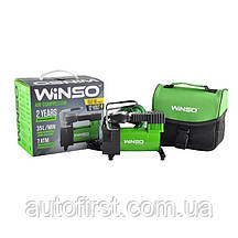 WINSO Компрессор автомобильний 7 Атм, 35 л/м. 150Вт, кабель 3м., шланг 1м.