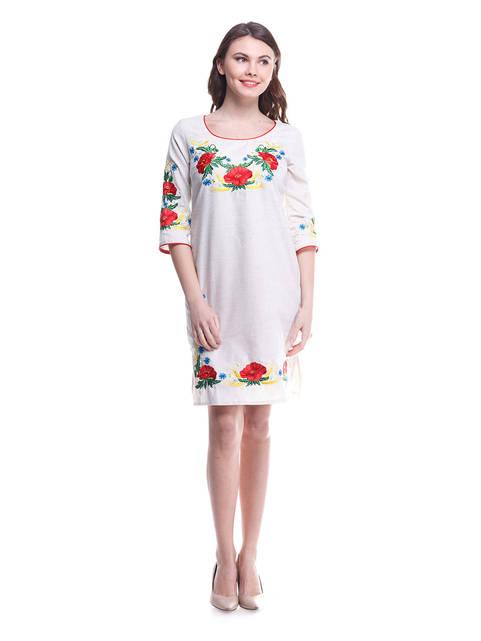 """Платье женское """"Квітка"""" льняное"""