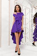 Женское стильное длинное платье  КВ786