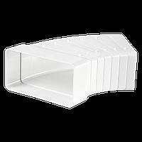 Универсальный угловой соединитель для плоских каналов  55*110