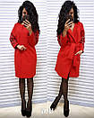 Пальто кашемировое с ажурными прорезями на рукавах, фото 8