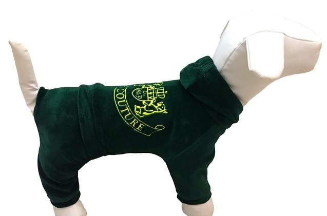 Велюровый костюм для собаки