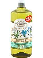 Шампунь для окрашенных и мелированных волос (Ромашка и Льняное масло) - Зеленая Аптека  1000мл.