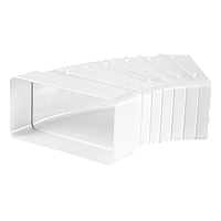 Универсальный угловой соединитель для плоских каналов 60*204