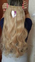 Волнистые волосы на заколках искусственные термо