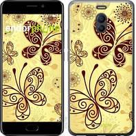 "Чехол на Meizu M6 Note Красивые бабочки ""4170c-1108-4848"""