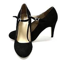 Туфли женские черные Pier One, 36,5