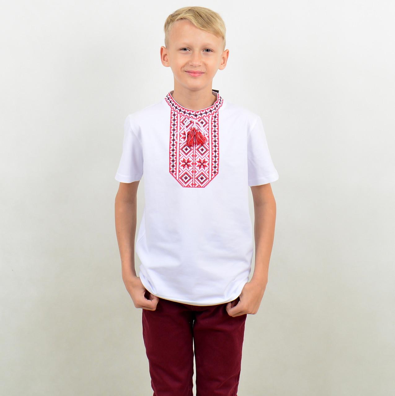 Футболка вишиванка для хлопчика