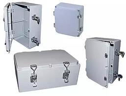Распределительная коробка алюминиевая, корпус, бокс, ответвительная коробка, герметичный ящик, IP67