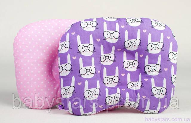 детская подушка для новорожденных