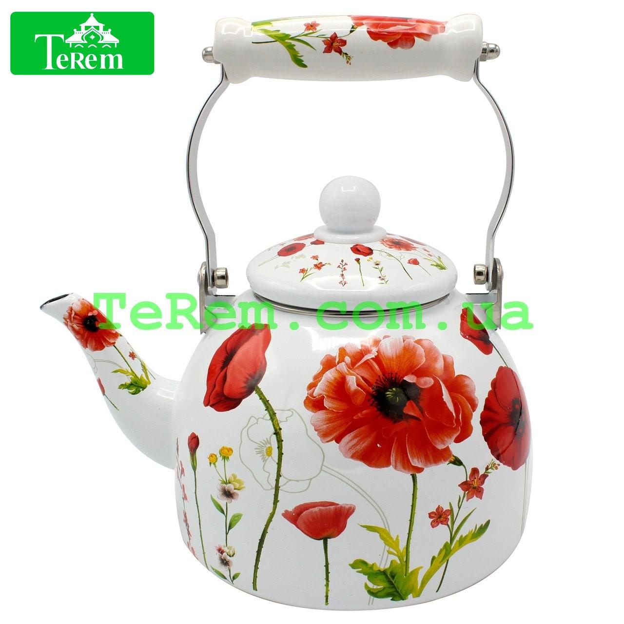 Чайник эмалированный Zauberg 2 л 12/L