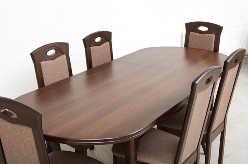 Кухонний комплект: стіл та 6 стільців -Олівер. Масив дерева.
