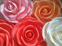 Роза Ростовые цветы из изолона Подарок любимой на День влюбленных, фото 1