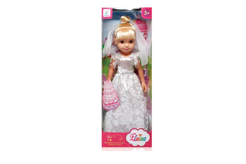 Кукла в свадебном платье, 26 см