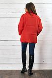Красивая женская короткая куртка утеплитель силикон  42-48р.(4 расцв.), фото 2