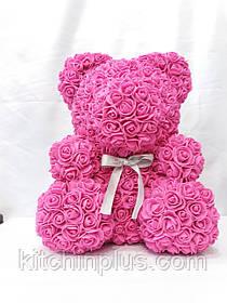 Медвежонок из роз большой