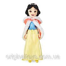 Мягкая игрушка кукла Белоснежка в меховой накидке Disney 48 см