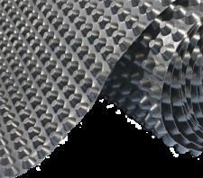 Профилированная шиповидная мембрана 1х20м цена за м2, фото 2