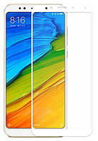 Защитное стекло 5D Future Full Glue для Xiaomi Redmi 5 white
