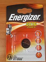 Дискова батарейка ENERGIZER Cell Lithium 3V CR2016