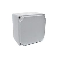 Распределительная коробка алюминиевая, корпус, бокс, ответвительная коробка, герметичный ящик, IP67 100х100х80 мм