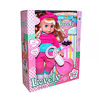 Пупс кукла 32 см Сестричка Беби берн baby born саксессуарами, горшок, пьет - писяет, HX355