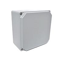 Распределительная коробка алюминиевая, корпус, бокс, ответвительная коробка, герметичный ящик, IP67 130х130х90 мм