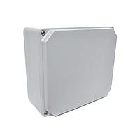 Распределительная коробка алюминиевая, корпус, бокс, ответвительная коробка, герметичный ящик, IP67 160х160х90 мм