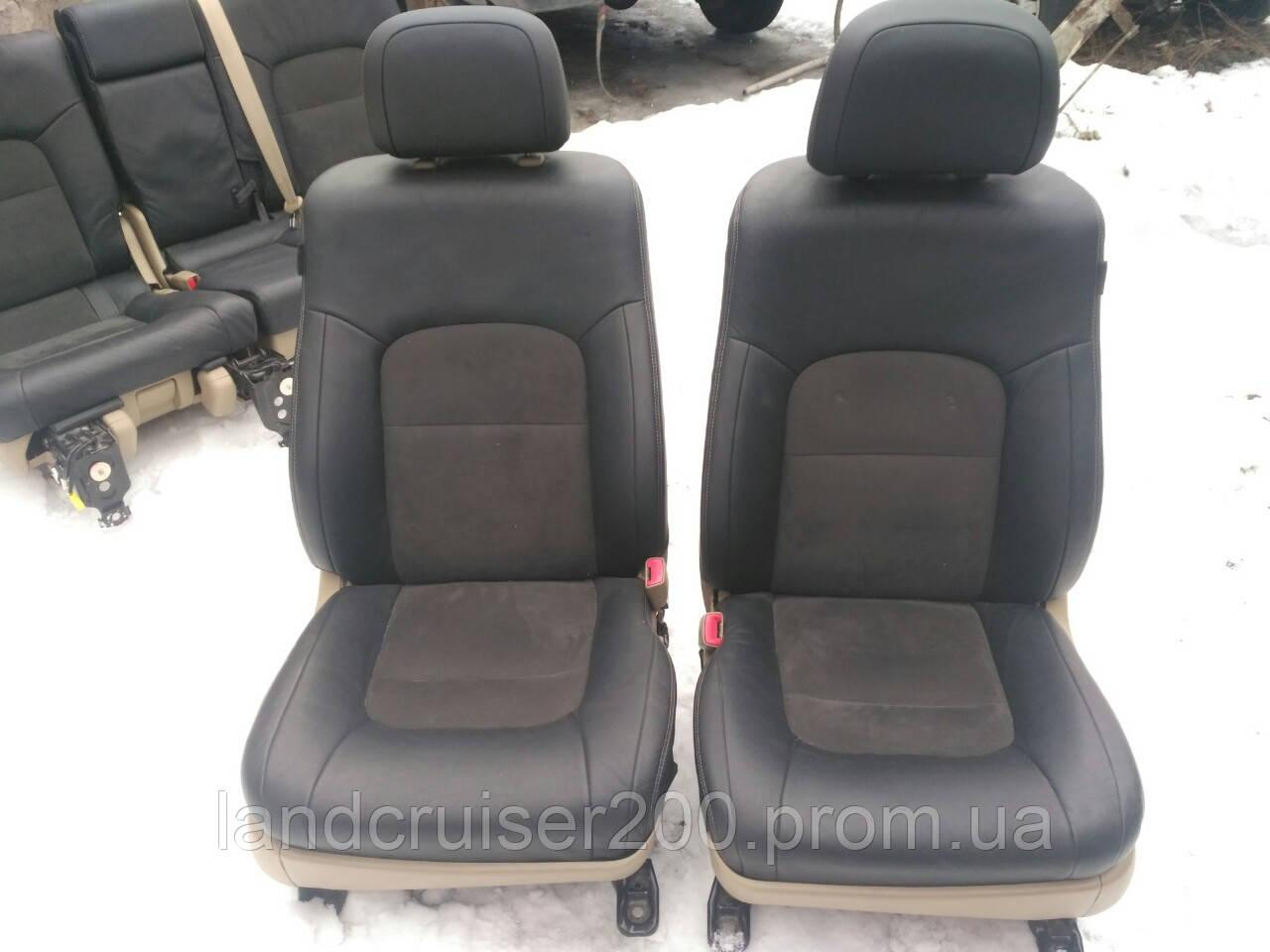 Комплект сидений (салон) Toyota land Cruiser 200