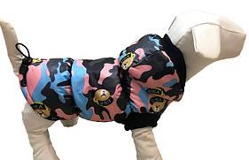 Жилет на синтепоне для собаки