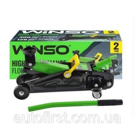 WINSO Домкрат гидравлический подкатной 2т. 130-300 мм